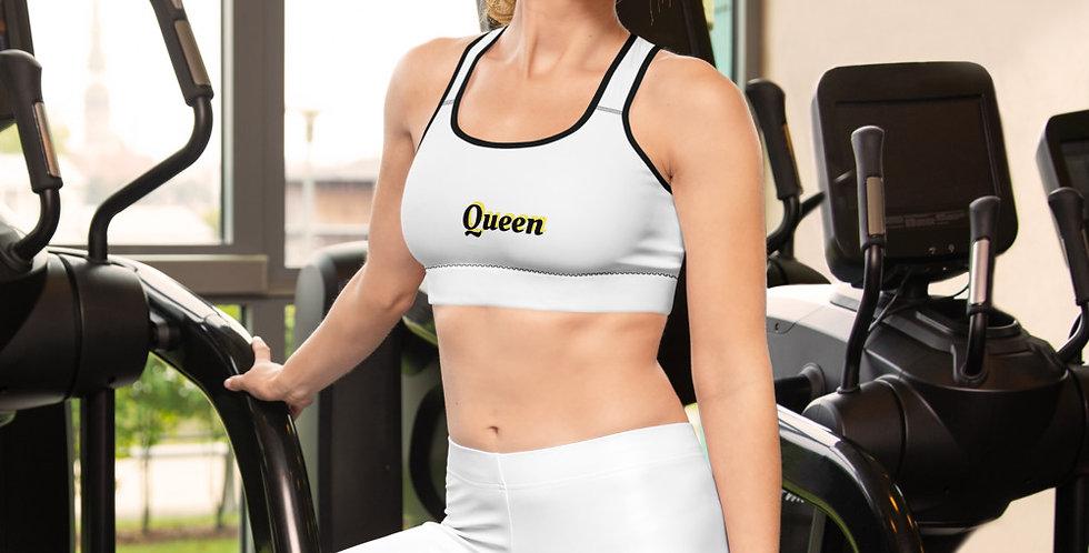 Custom Designed Queen Padded Sports Bra
