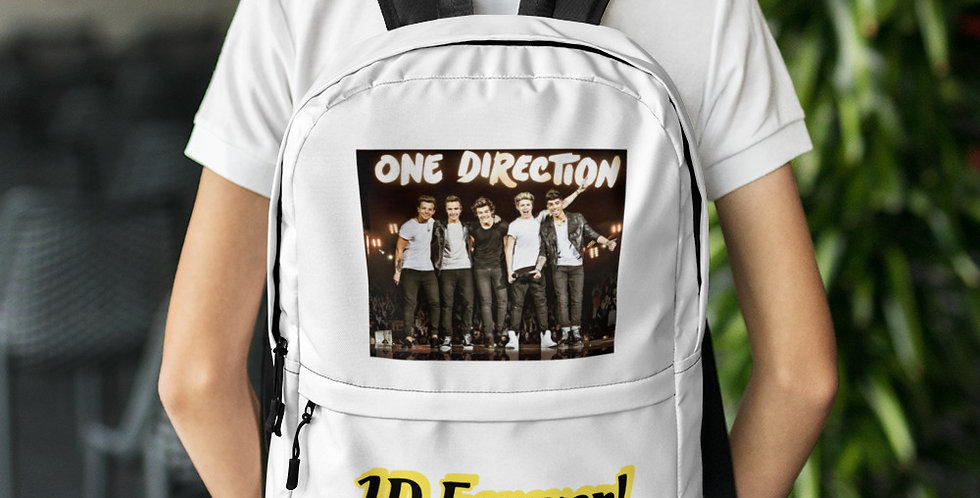 Personalised One Direction Backpack