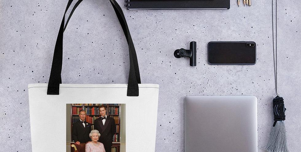 Custom Designed British Royal Family Tote bag