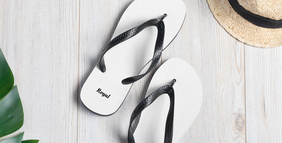 Customised 'Royal' Flip-Flops