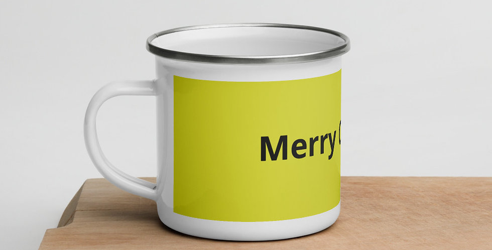 Custom Designed Christmas Special Enamel Mug