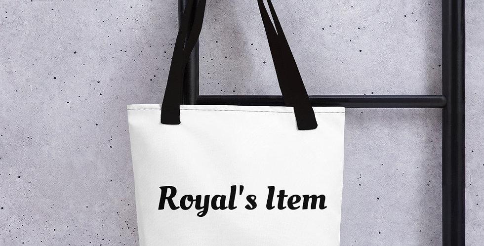 Customised Royal Tote bag