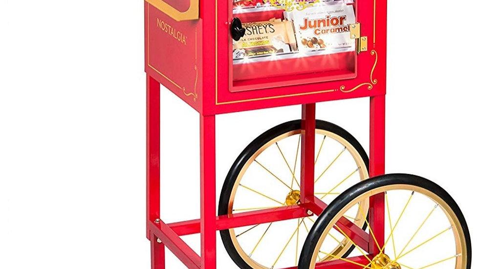 Nostalgia Popcorn Machine Stand