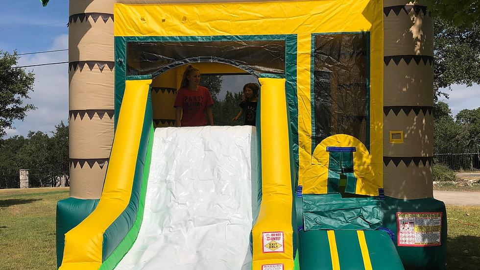Jungle Slide/Bounce House Combo