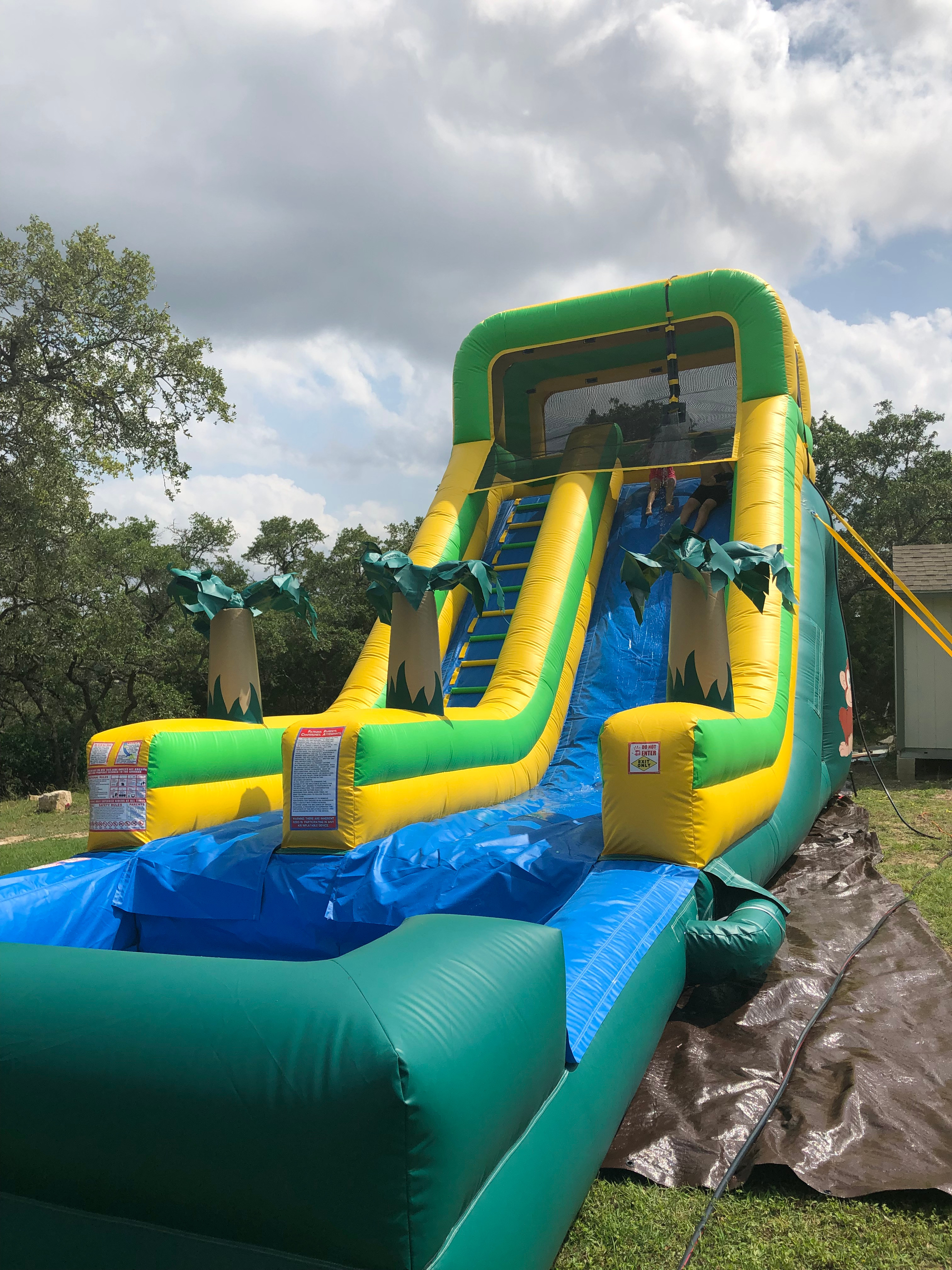 Jungle Water-slide