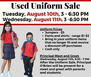 Used uniform sale.png