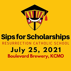 Sips for SCholarships Save the Date 2021