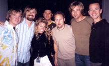 Third Day Christian Band, Mac Powell and Dr. Diane Dike, Nonprofit Second Chance with Saving Grace Founder