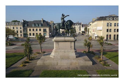 Statue Napoléon, Cherbourg  , Manche
