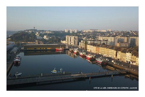 Port de commerce, Cherbourg  , Manche