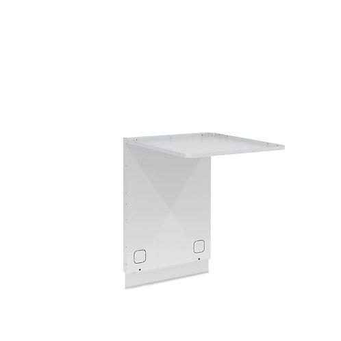 Panel trasero para refrigerador