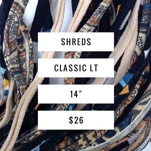 Classic Shreds LT ~ A lighter scarf