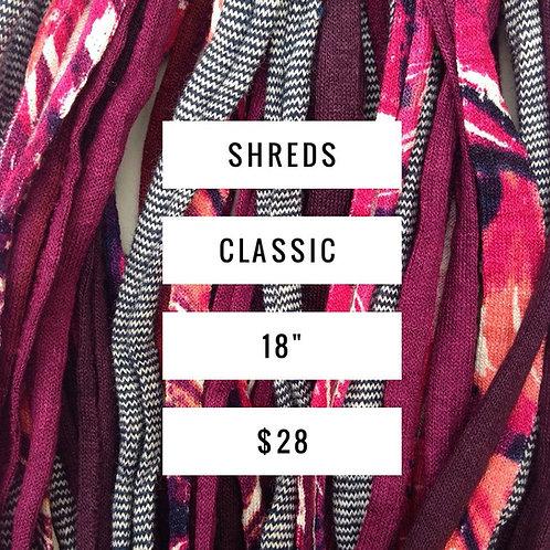 Classic Shreds Scarves