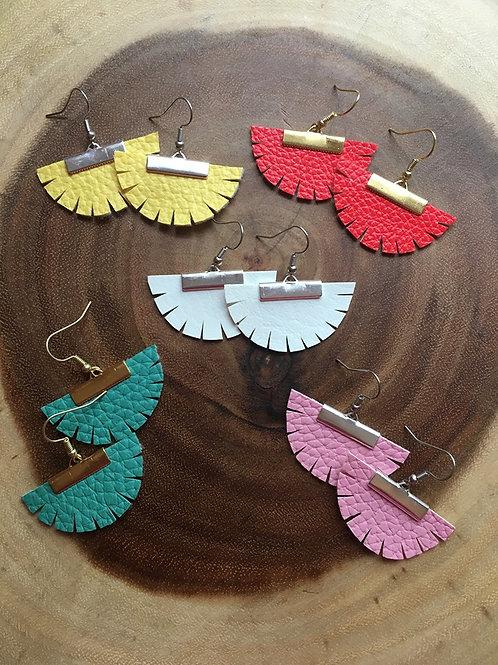 Boho Fan Earrings