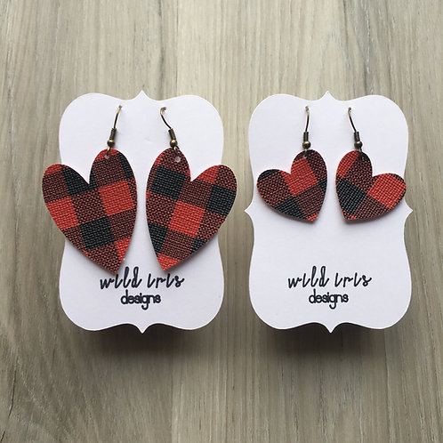 Buffalo Plaid Hearts Collection