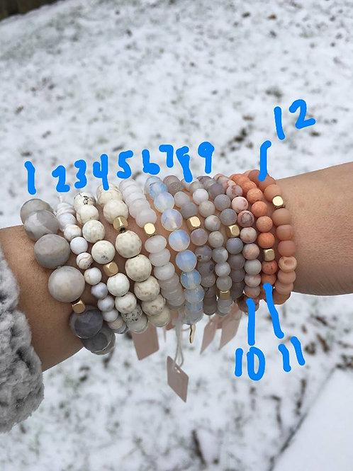Love Poppy Jewels ~ Beaded Stretch Bracelets
