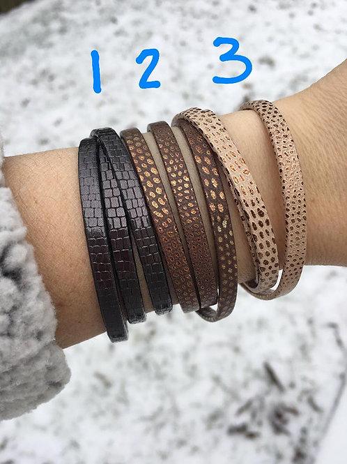 Love Poppy Jewels ~ Leather Wrap Bracelets