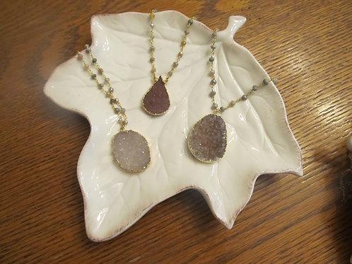Love Poppy Jewels ~ Druzy Necklaces