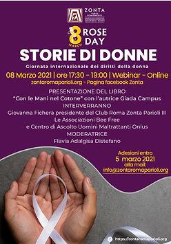 ZC Roma Parioli III_evento 8 Marzo 2021.