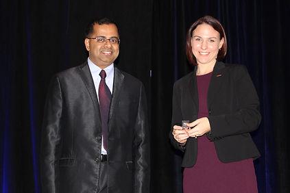 Raman Venkatesh and Laura Klauser.JPG