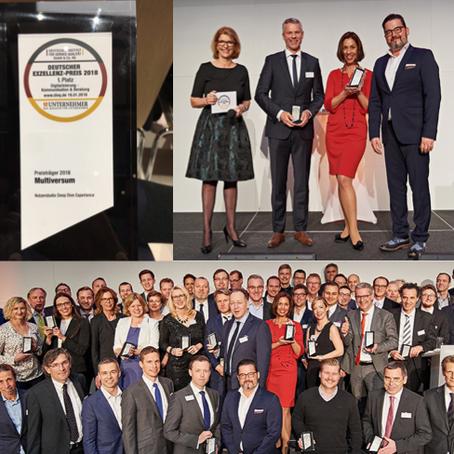 Deutscher Exzellenzpreis 2018
