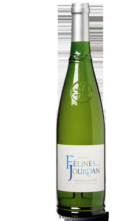 """Domaine FELINE JOURDAN """"Picpoul de Pinet"""" 2019 75 cl"""