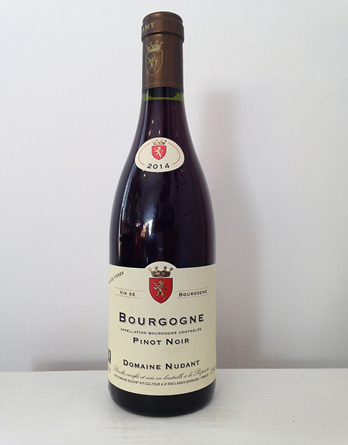 "Domaine NUDANT Bourgogne ""pinot noir"" 2018 75cl"