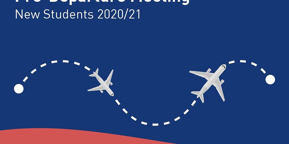 Pre-departure Briefing 2020/21