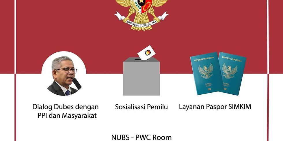 Kunjungan Kedutaan Besar RI