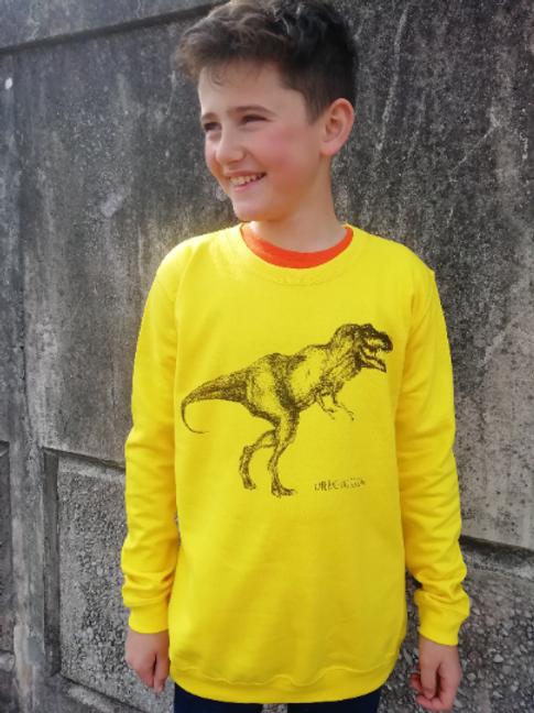 T-Rex Dinosaur Unisex Children's Sweatshirt