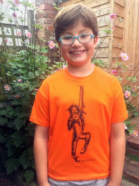 Organic Orangutan Kids T-Shirt