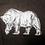 Thumbnail: Organic Polar Bear Unisex Kids Hand Screen Printed Jumper
