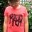Thumbnail: Coral Elephant hand screen printed Kids t-shirt