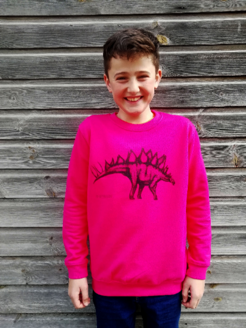 Stegosaurus Dinosaur Unisex Children's sweatshirt