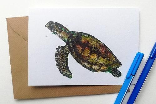 Turtley cool Card