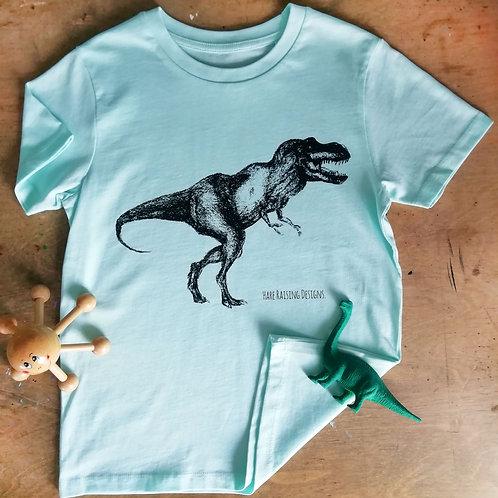 Organic T-Rex Kids T-Shirt