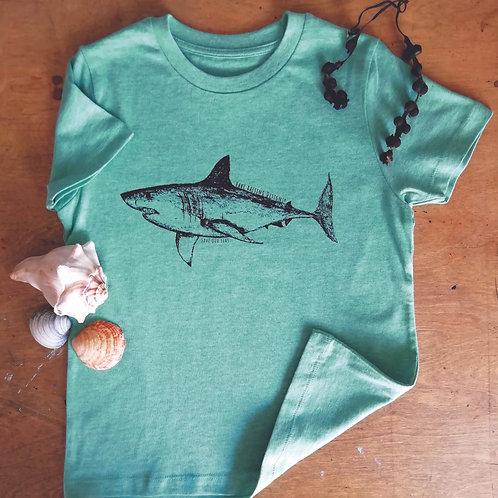 Organic Shark Kids T-Shirt