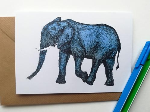 Smellaphant Card