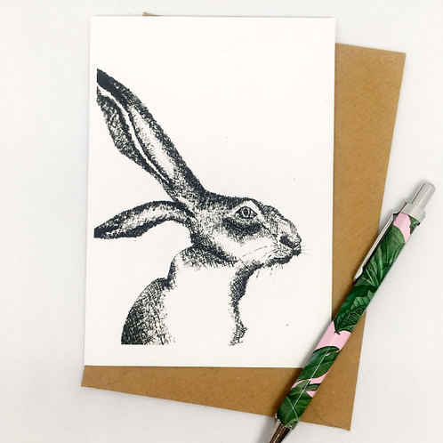 The hare that started this card