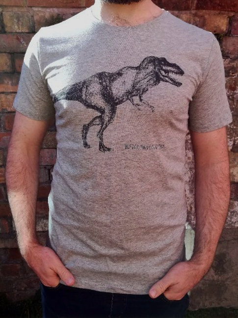 Organic T-Rex Adults Unisex T-Shirt