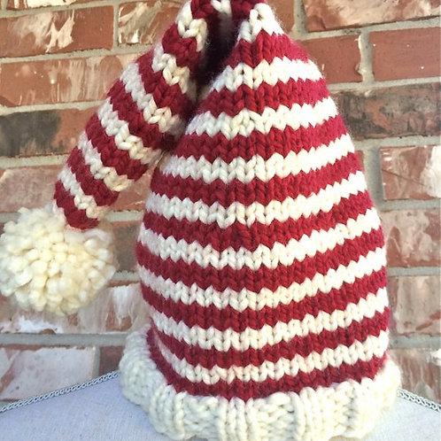 Christmas Hat Digital knitting Pattern