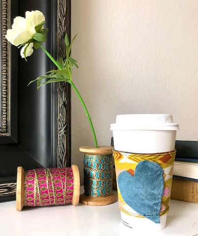 Industrial Whimsy Coffe Cozies