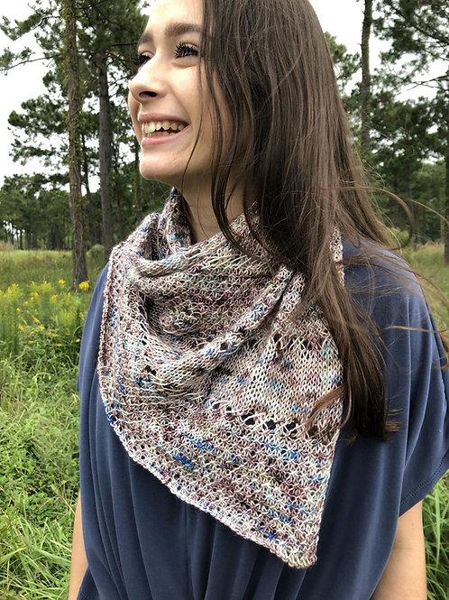Confetti Shawl Digital Knitting Pattern Intermediate