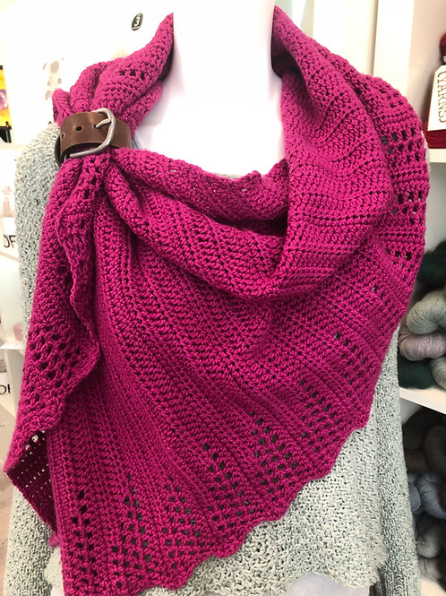 Crochet On the Trail Shawl Digital Crochet Pattern