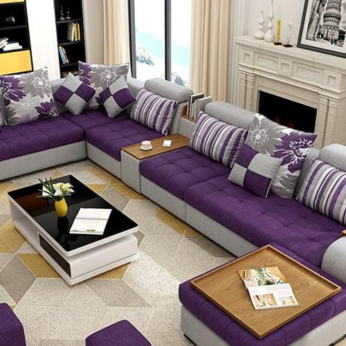 Ordinaire 7 Piece U Shaped Modern Living Room Sofa Set