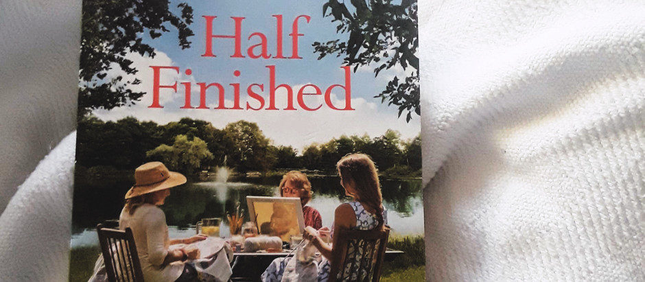Half Finished: A Book Review | #TeaAndWord #172