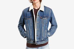 Levi Sherpa Trucker Jacket