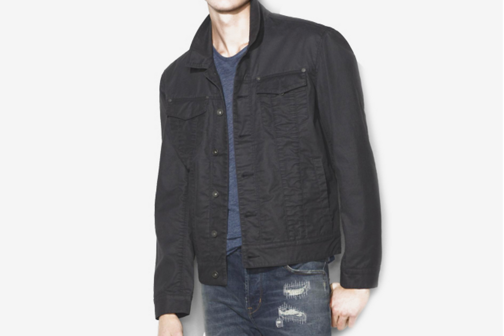 John Varvatos Trucker Jacket