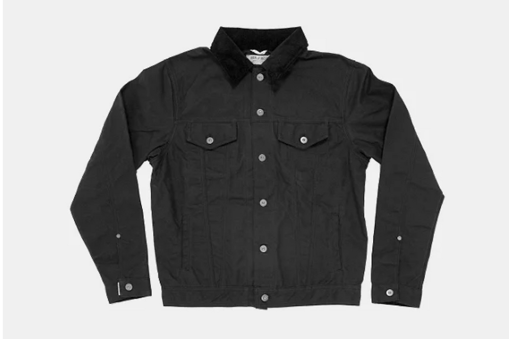 Iron and Resin Trucker Jacket