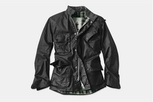 Barbour Icons International Waxed Jacket